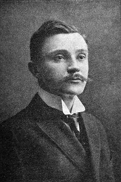 Otakar Theer v roce 1909