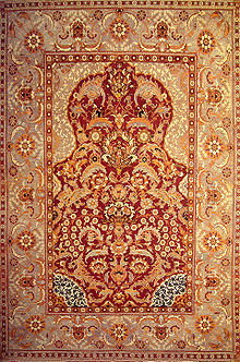 Ottoman Court Carpet, Late 16th Century, Egypt Or Turkey.