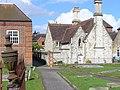 Outside Farnham Church - geograph.org.uk - 746004.jpg
