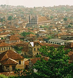 Skyline of Abeokuta