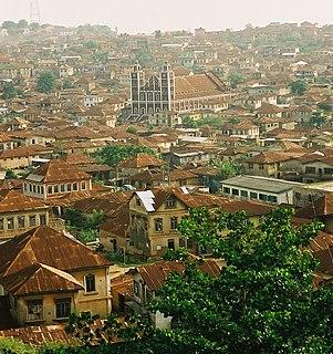 Abeokuta City in Ogun State, Nigeria