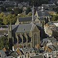 Overzicht Sint Willibrorduskerk vanaf de domtoren - Utrecht - 20367571 - RCE.jpg