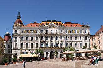 Széchenyi square (Pécs) - Pécs County house.