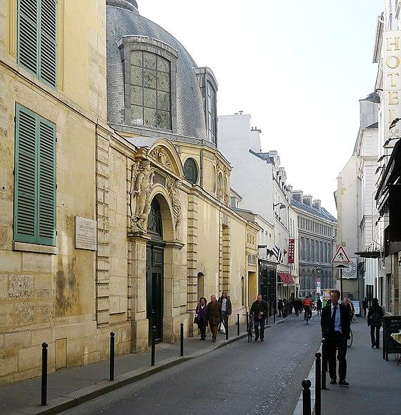 Fichier:P1090303 Paris VI rue de l'Ecole de Médecine n°5 rwk.JPG