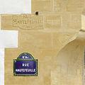 P1260098 Paris VI rue Haurefeuille plaque inscription rwk.jpg