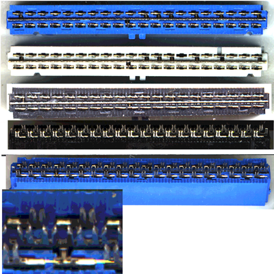Differences between connectors