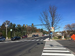Noble, Pennsylvania - Old York Road (PA 611) in Noble
