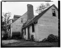 PERSPECTIVE VIEW OF EAST GABLE END - Nevitt's St. Anne, Leonardtown, St. Mary's County, MD HABS MD,19-LENTO.V,2-1.tif