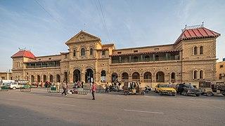 Karachi Cantonment railway station Railway station in Karachi, Pakistan