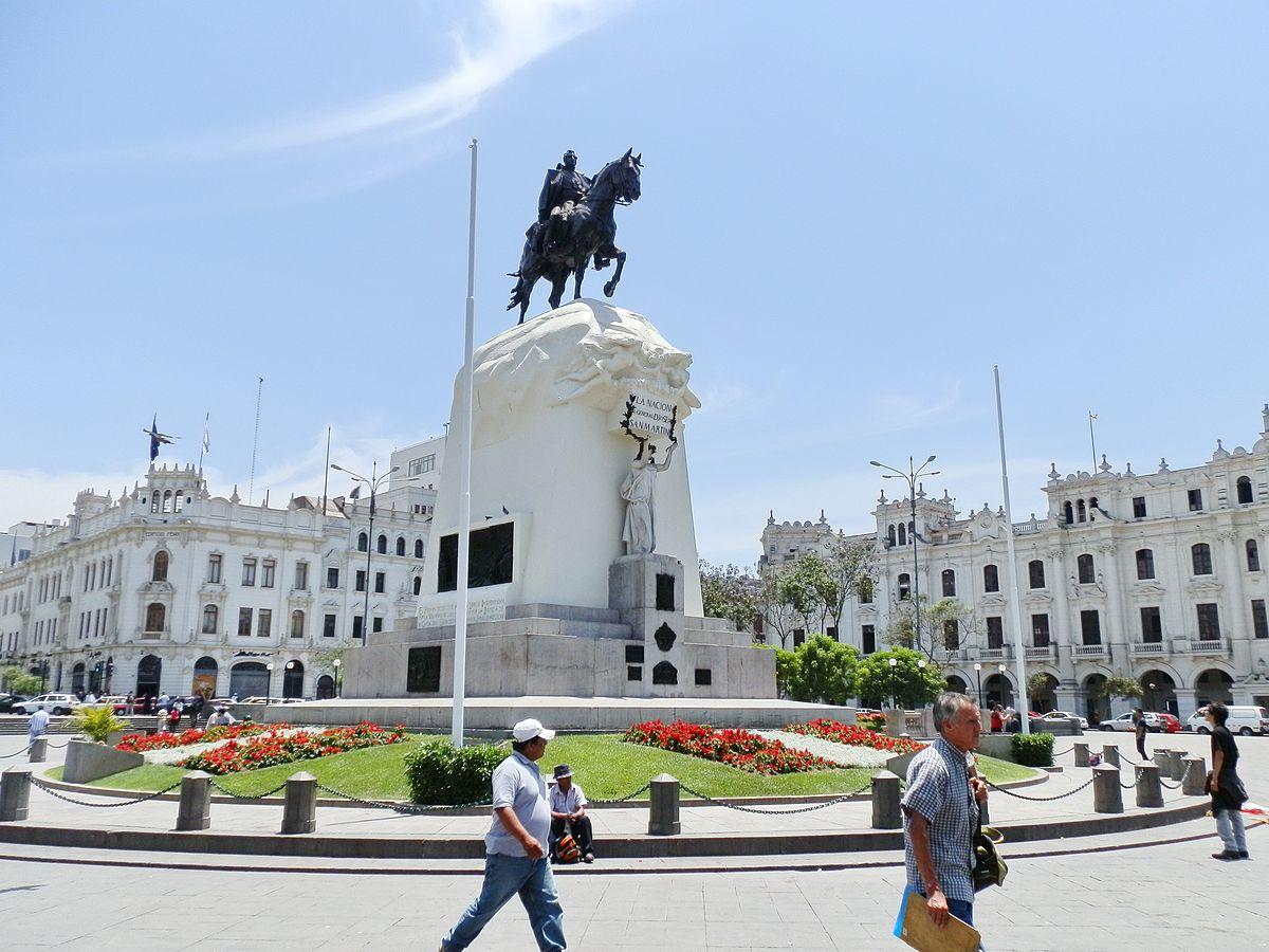 Monumento a San Martín (Lima) - Wikipedia, la enciclopedia libre