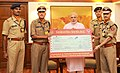 PM Modi and Sashastra Seema Bal, SRM University and ITC make donations for PMNRF.jpg