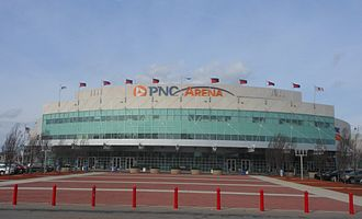 PNC Arena - South Entrance in 2013