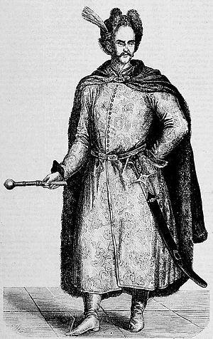 Józef Bogusław Słuszka - A posthumous portrait of Słuszka from the Tygodnik Ilustrowany, 1861.