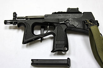 PP-2000 - Image: PP 2000 with detached magazine