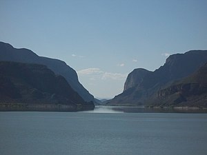 Nazas River - Image: PRESA FRANCISCO ZARCO