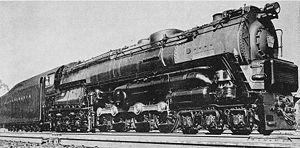 Pennsylvania Railroad class S2 - Image: PRR S2
