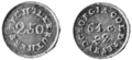 PSM V53 D615 Bechtler georgia two and a half dollar gold coins.png
