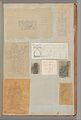 Page from a Scrapbook containing Drawings and Several Prints of Architecture, Interiors, Furniture and Other Objects MET DP372133.jpg
