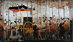 Paintings on east wall of Xu Xianxiu Tomb.jpg