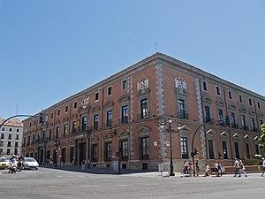 Spanish Council of State - Image: Palacio de los Consejos 01