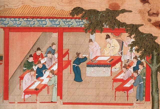 Palace Examination at Kaifeng, Song Dynasty