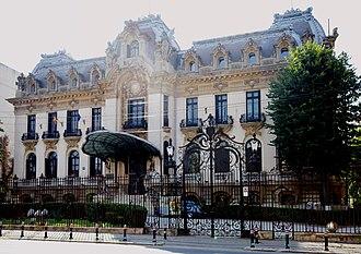 Cantacuzino Palace - Image: Palatul Cantacuzino, Calea Victoriei 141