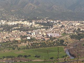 Lakhdaria Commune and town in Bouïra Province, Algeria