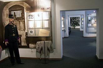 Pankrác Prison - Museum exhibition at the prison.