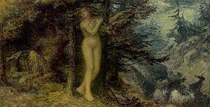Pitys (mythology) - Pan and Pitys, Edward Calvert.