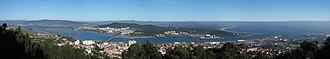 Viana do Castelo - Panoramic view of Viana do Castelo, Portugal