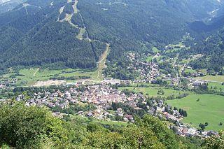 Temù Comune in Lombardy, Italy