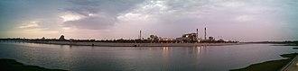 Sabarmati Riverfront - Panoramic view of Sabarmati Riverfront June 2015, Ahmedabad
