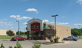 Papa John's Pizza - Papa John's in Springboro, Ohio, built specifically for home delivery