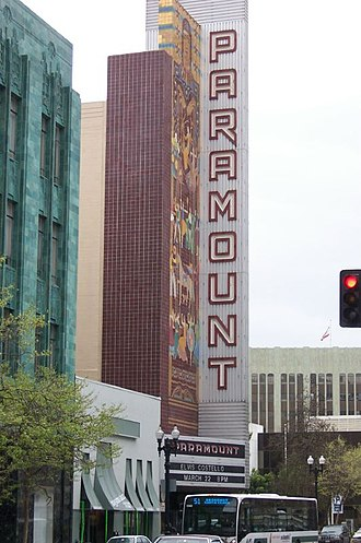 Paramount Theatre (Oakland, California) - Image: Paramount