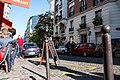Paris 75018 Rue du Mont-Cenis no 010 traffic bollards 20161030.jpg