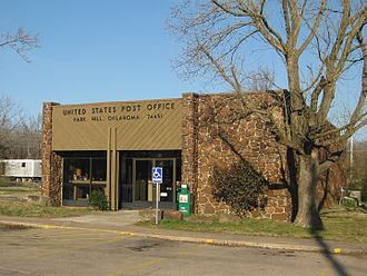 Park Hill, Oklahoma - Park Hill post office in March 18, 2010