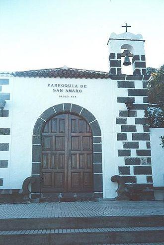 Saint Amaro - Ermita de San Amaro, Puerto de la Cruz.