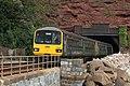 Parsons Tunnel - GWR 143619+143611 Paignton train.JPG