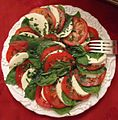 Party food dish 8 salad tomatoes cheese lettuce spinach.jpg