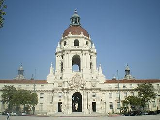 Pasadena Civic Center District - Pasadena City Hall, 2008