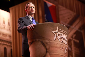 Pat Toomey - Toomey speaking at CPAC in March 2014.