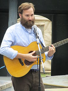 Paul Baribeau performing at the University of Alaska Fairbanks.JPG