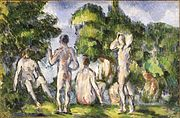 Paul Cézanne - Group of Bathers.jpg
