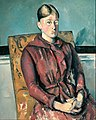 Paul Cézanne - Madame Cézanne In A Yellow Armchair - Google Art Project.jpg