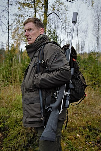 Professional hunter - Paul Childerley, a British professional stalker and gamekeeper
