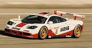 McLaren F1 GTR - Image: Paul Ricard 1995 03 12 008