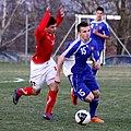 Pavol Ilko (MŠK Žilina), Slovakia U-19 (03).jpg