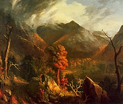 Peace at Sunset (Evening in the White Mountains) Thomas Cole.jpg