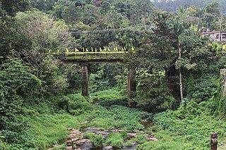 Azhuthayar tributary of Pamba river
