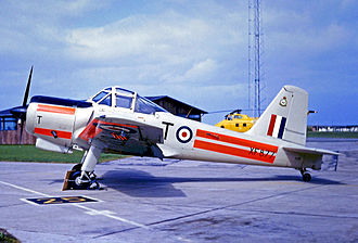 Percival Provost - Operational Provost T.1 of the RAF Central Air Traffic Control School in 1967